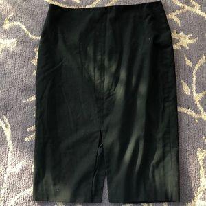 Banana Republic Pencil Skirt Black Size 8!